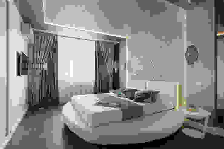 Eclectic style bedroom by GLAZOV design group концептуальная студия дизайна интерьеров Eclectic
