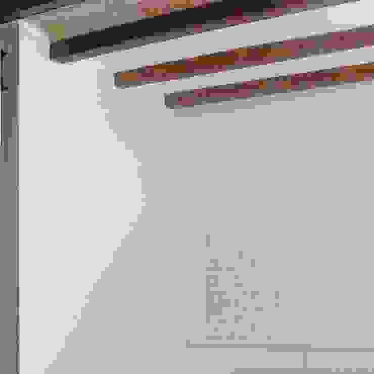 Detalles y acabados Paredes y suelos de estilo minimalista de Divers Arquitectura, especialistas en Passivhaus en Sabadell Minimalista
