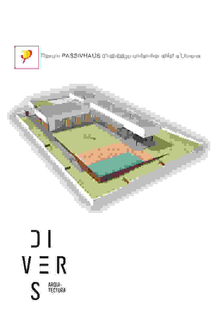 by Divers Arquitectura, especialistas en Passivhaus en Sabadell Modern