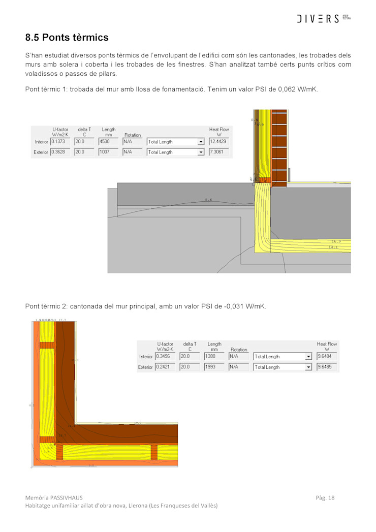 modern  by Divers Arquitectura, especialistas en Passivhaus en Sabadell, Modern