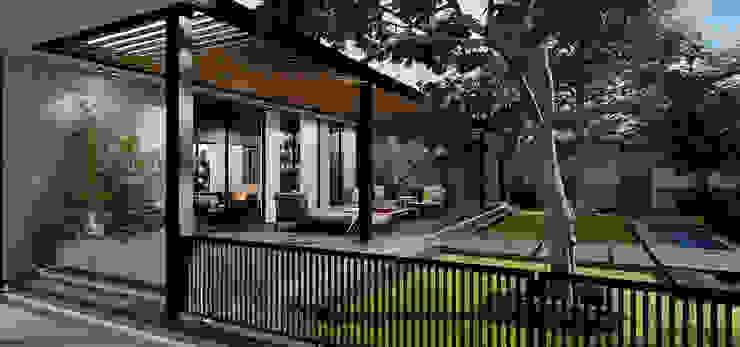 SIKA STABLE Modern Garden by STUDIO PARADIGM Modern