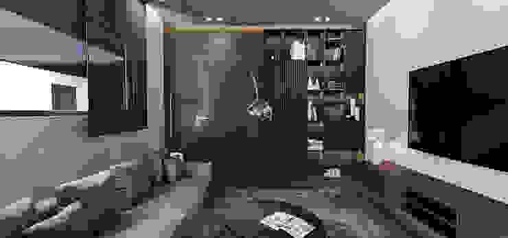 SIKA STABLE Modern Living Room by STUDIO PARADIGM Modern