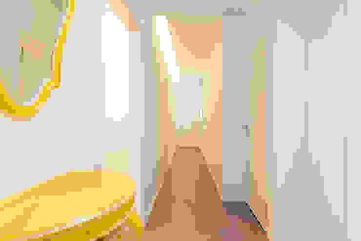 Modern Corridor, Hallway and Staircase by SMLXL-design Modern