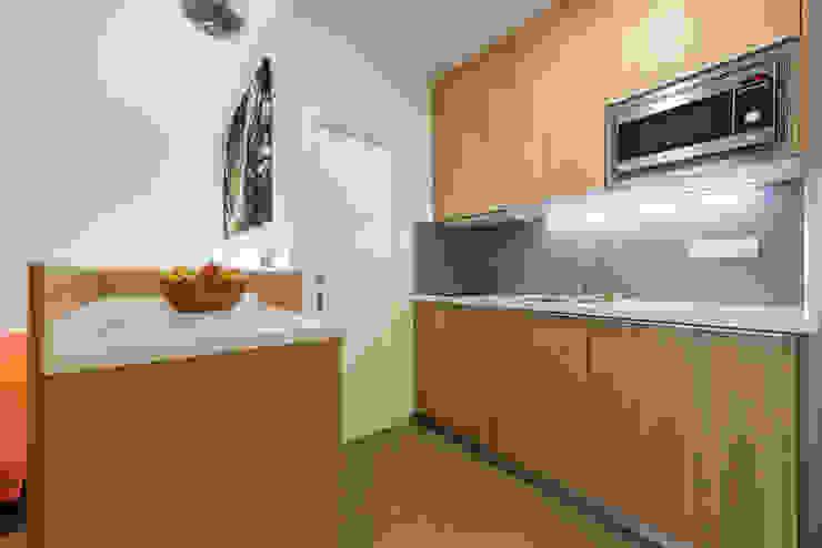 Modern Kitchen by SMLXL-design Modern Wood Wood effect