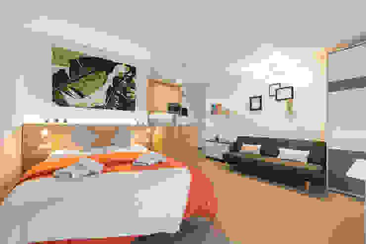 Modern Bedroom by SMLXL-design Modern