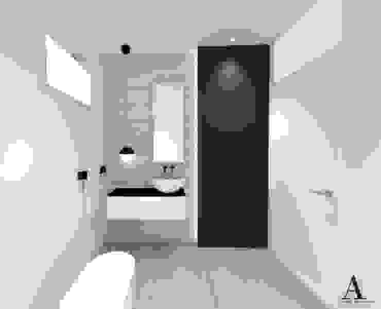 Bagno Moderno Bianco E Nero.Progettazione Bagno In Bianco E Nero Di Alfonsi Architettura Homify