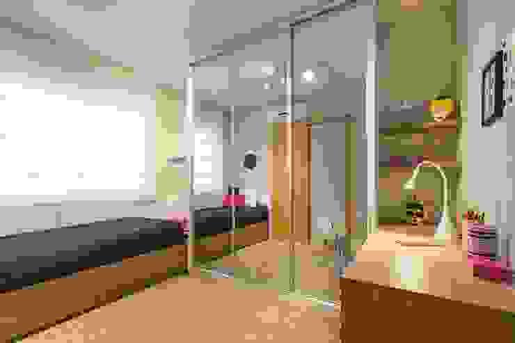 1202 - Porto Alegre Incomparável Quartos minimalistas por BWL - Design de Interiores Minimalista