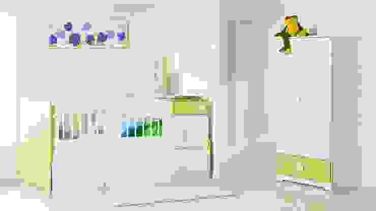 ALCOBA INFANTIL..: Habitaciones infantiles de estilo  por MUEBLERIA Y CARPINTERIA MADEYRA, Moderno Madera Acabado en madera