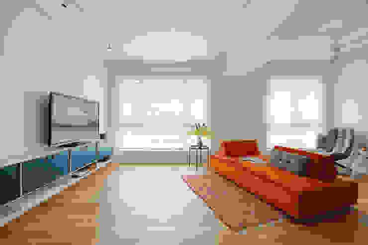 에클레틱 거실 by 六相設計 Phase6 에클레틱 (Eclectic)