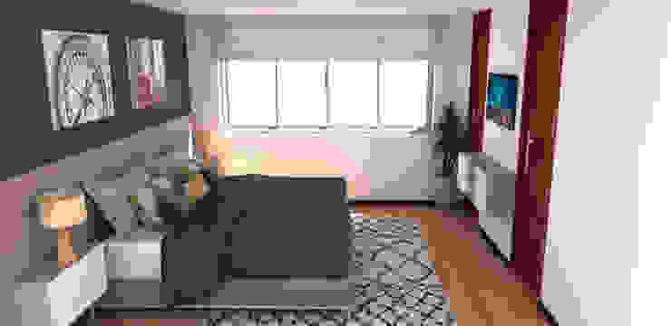 habitacion hombre de Naromi Design Moderno Madera Acabado en madera