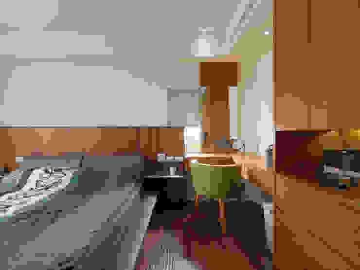 Phòng ngủ phong cách đồng quê bởi 舍子美學設計有限公司 Đồng quê