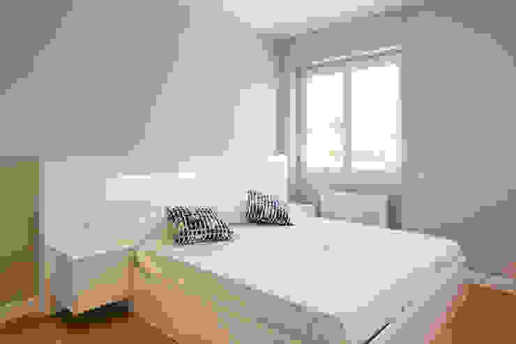 HABITACION LF24 Arquitectura Interiorismo Dormitorios de estilo moderno
