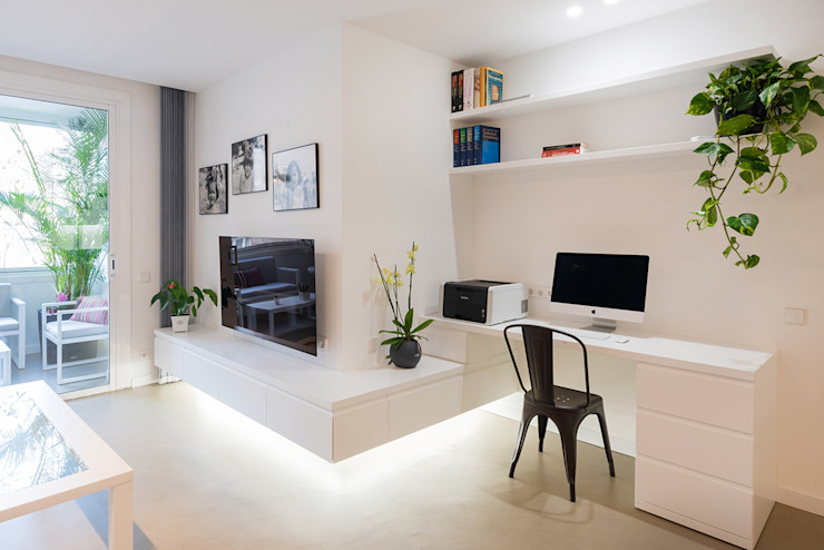 LF24 Arquitectura Interiorismo Nowoczesny salon