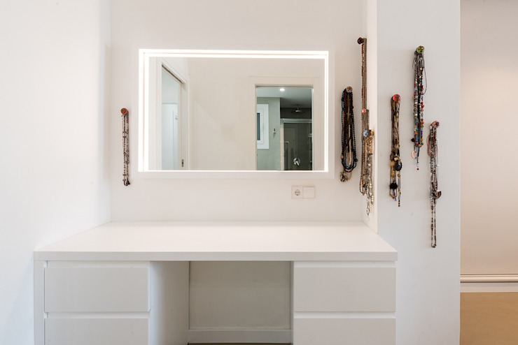 LF24 Arquitectura Interiorismo Nowoczesna sypialnia