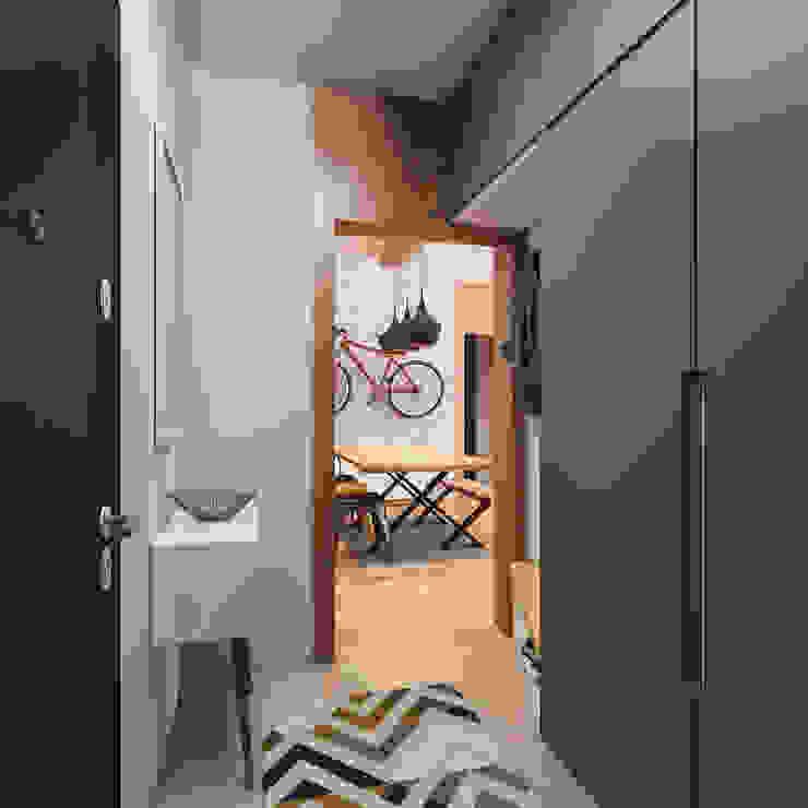 Antre Modern Koridor, Hol & Merdivenler homify Modern