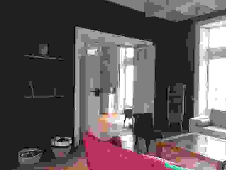 COLORÉ & DÉCALÉ MIINT - design d'espace & décoration Salon original Noir