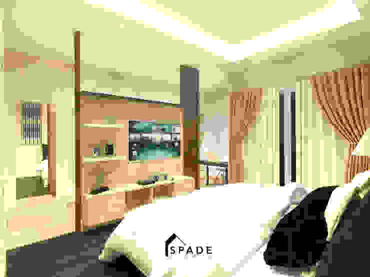 Master Bedroom Taman Surya 2 Oleh SPADE Studio Indonesia Minimalis