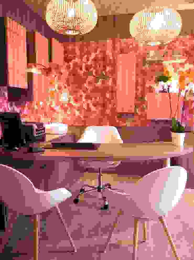 MIINT - design d'espace & décoration Cliniche moderne Rosa