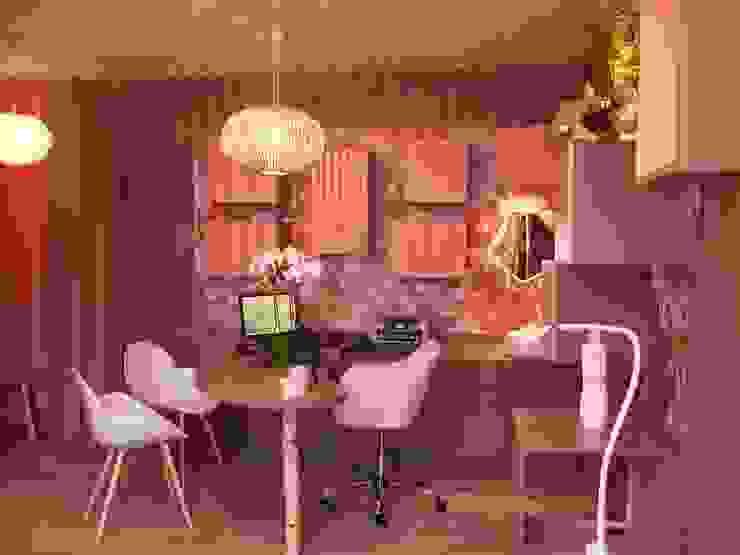MIINT - design d'espace & décoration Clínicas / Consultorios Médicos Beige