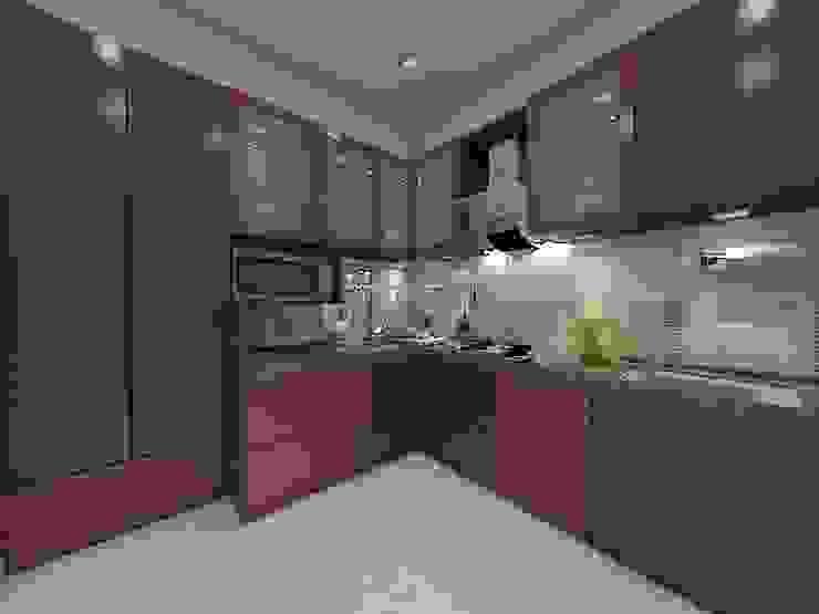 Kitchen by Peak Interior Asian