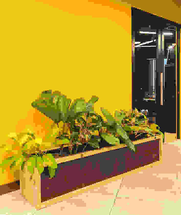 Jardinera:  de estilo industrial por Mocca Mobiliario, Industrial