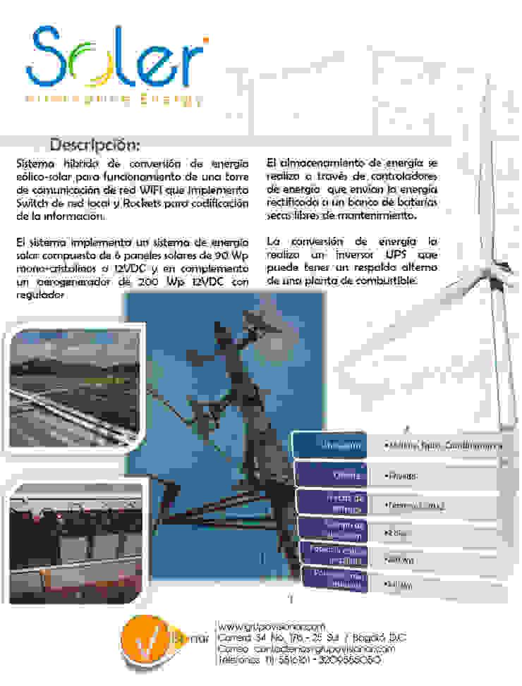 PLANTA EÓLICA de SOLER Alternative Energy Moderno