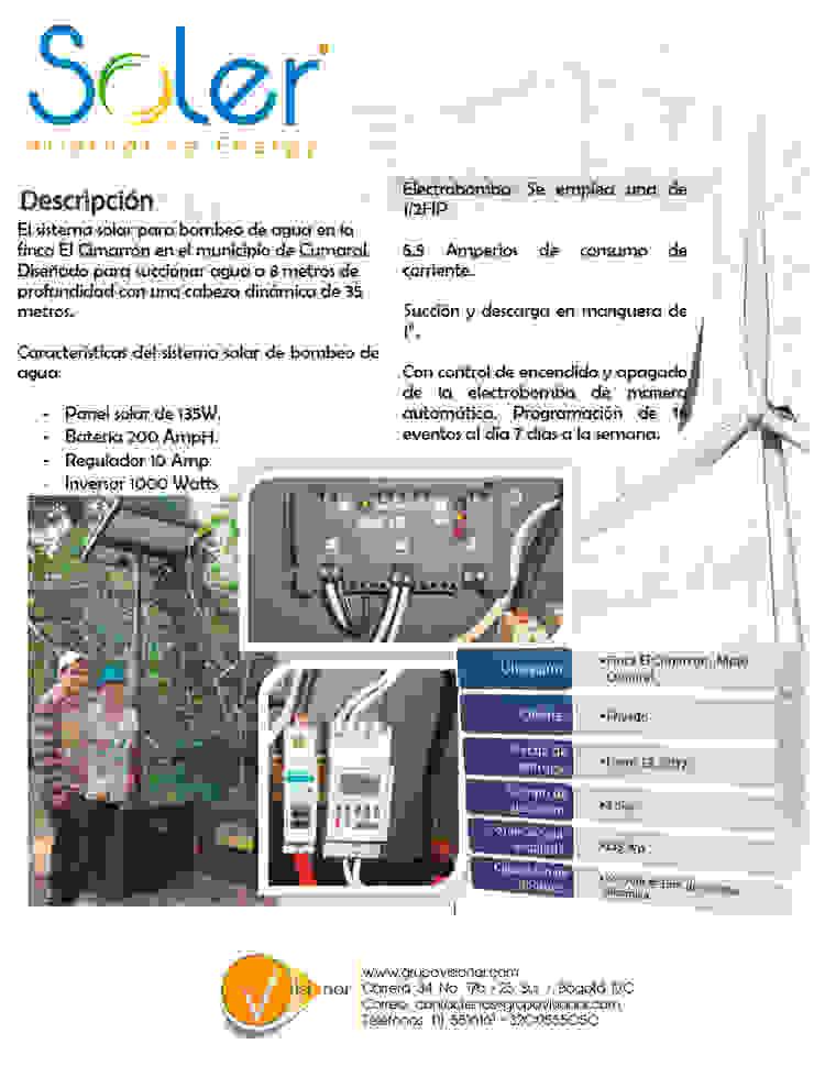 PLANTA SOLAR de SOLER Alternative Energy Moderno