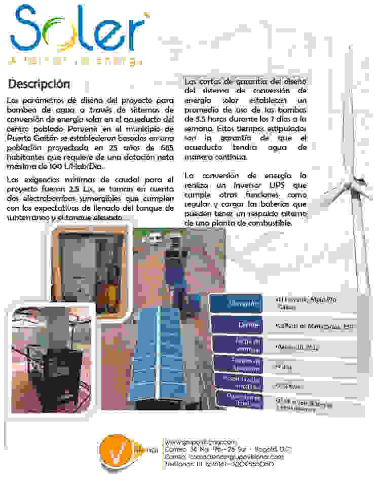 PPLANTA SOLAR de SOLER Alternative Energy Moderno