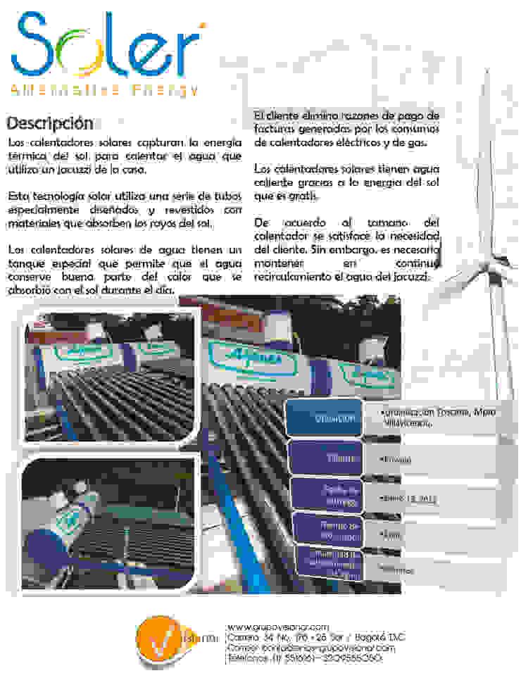 CALENTADORES SOLARES de SOLER Alternative Energy Moderno