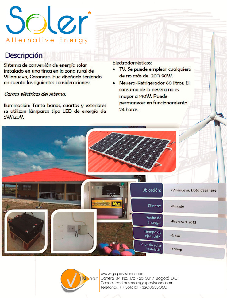 根據 SOLER Alternative Energy 現代風