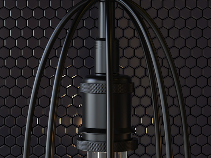 Lámpara Colgante Orquidea de Cubeconcept.studio Moderno