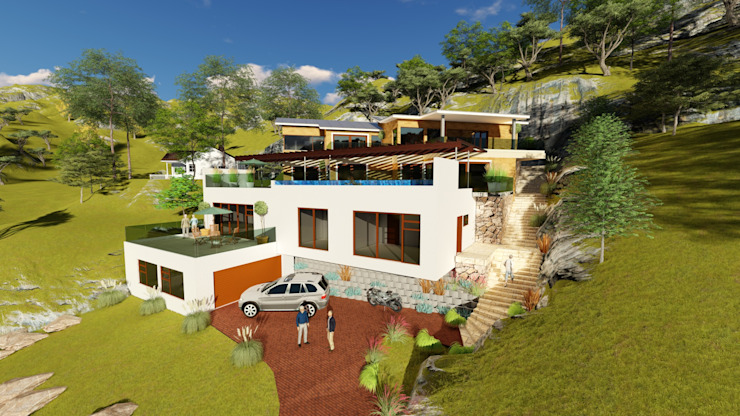 HOUSE MONTGOMERY by NDLOVU DESIGNS Mediterranean