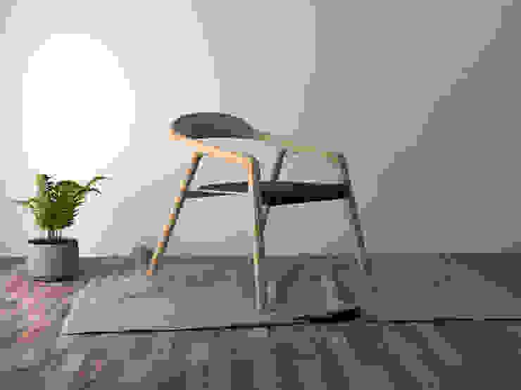 Silla Elapso de Cubeconcept.studio Moderno Madera Acabado en madera
