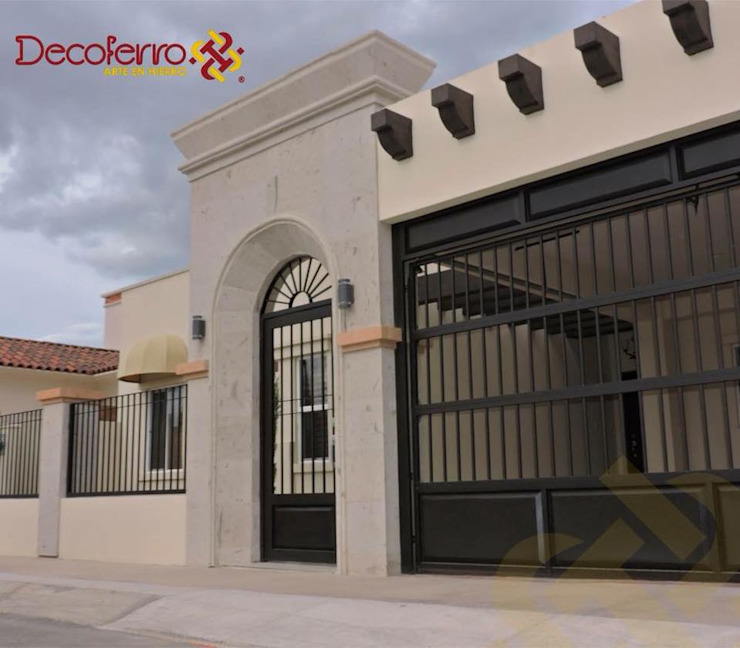 Front doors by decoferro arte en hierro,