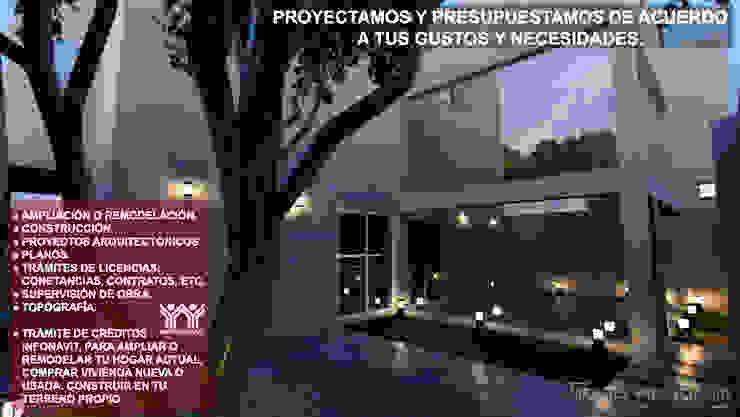 Anteproyecto Casa Habitacion I de ARQUITECTO MANUEL VALENCIA CID Minimalista