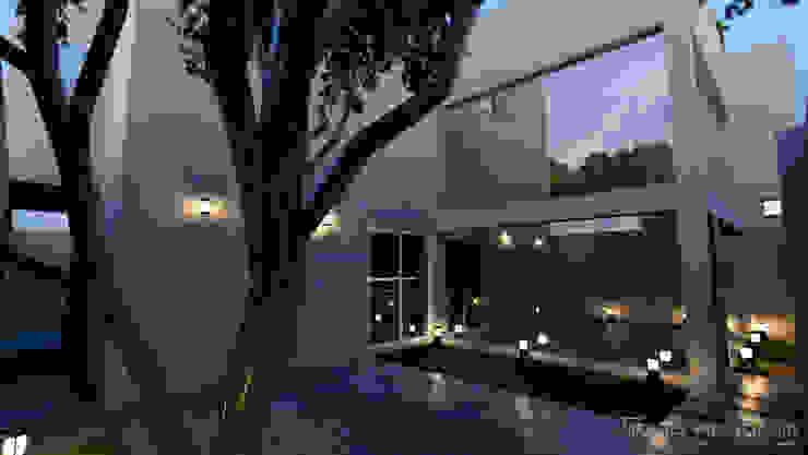 Anteproyecto Casa Habitacion I de ARQUITECTO MANUEL VALENCIA CID Minimalista Concreto