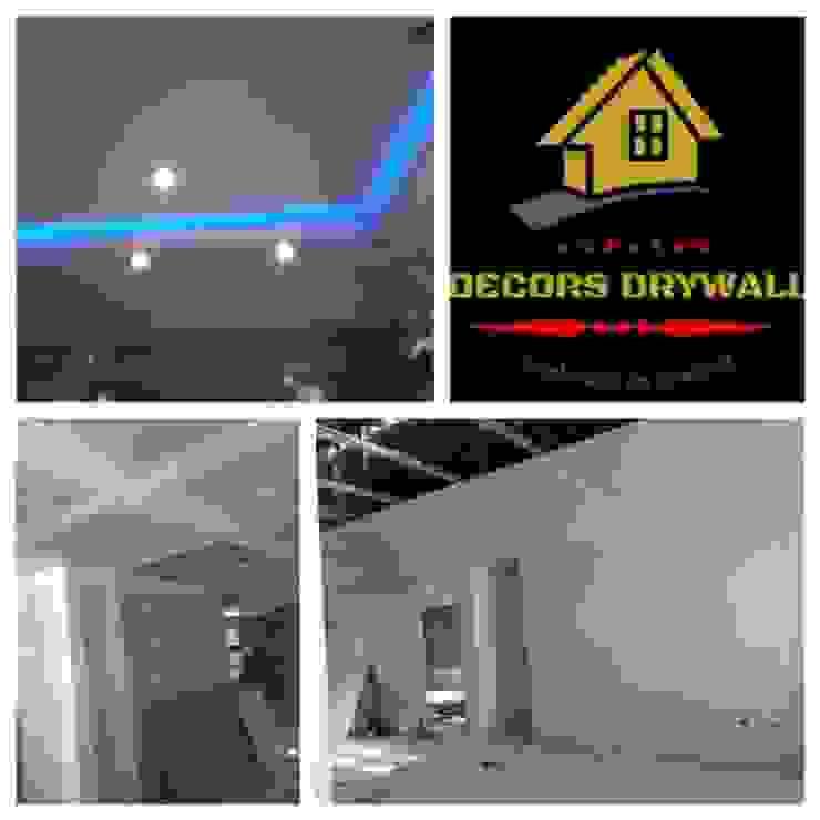 TRABAJOS EN SISTEMA DRYWALL de decors drywall Moderno