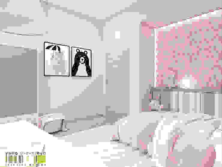 Minimalistische Kinderzimmer von Мастерская интерьера Юлии Шевелевой Minimalistisch