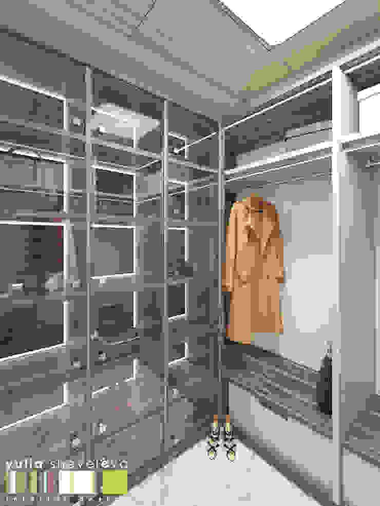 Minimalistische Ankleidezimmer von Мастерская интерьера Юлии Шевелевой Minimalistisch