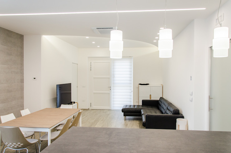 Modern living room by Studio ARCH+D Modern