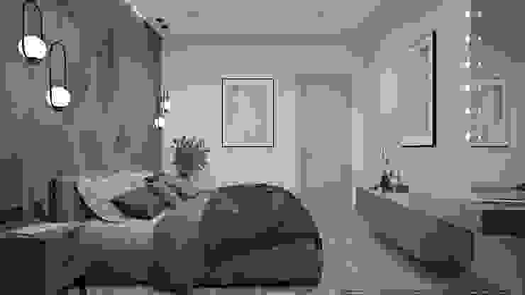Scandinavian style bedroom by дизайн-бюро ARTTUNDRA Scandinavian