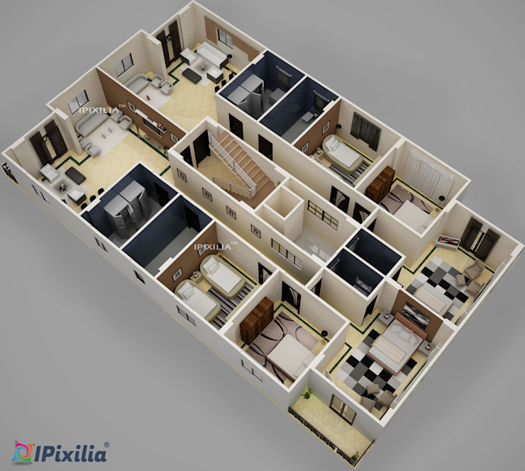 Residential plans visualization by IPixilia