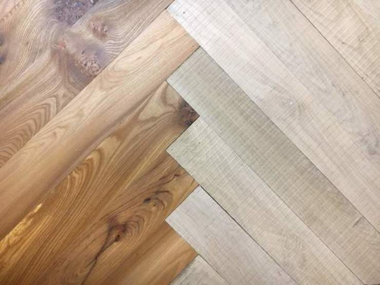 Combination Herringbone Parquet Flooring by Wood Flooring Engineered Ltd - British Bespoke Manufacturer Modern Engineered Wood Transparent