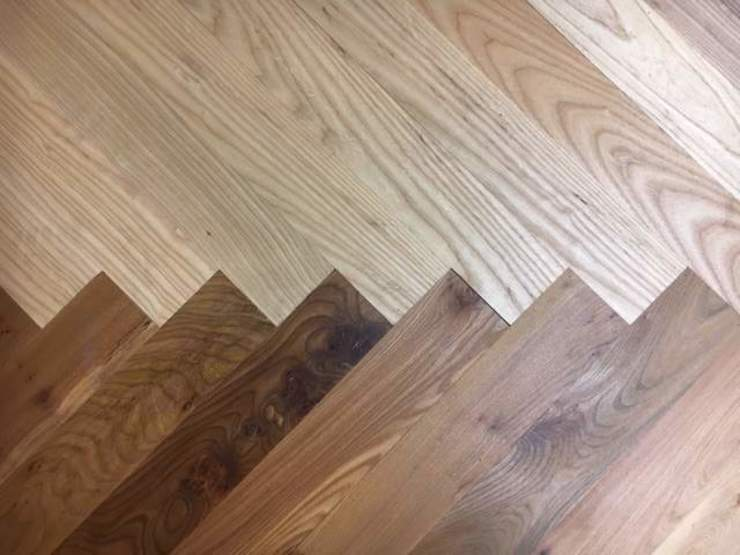 Contemporary Parquet Flooring by Wood Flooring Engineered Ltd - British Bespoke Manufacturer Modern Engineered Wood Transparent