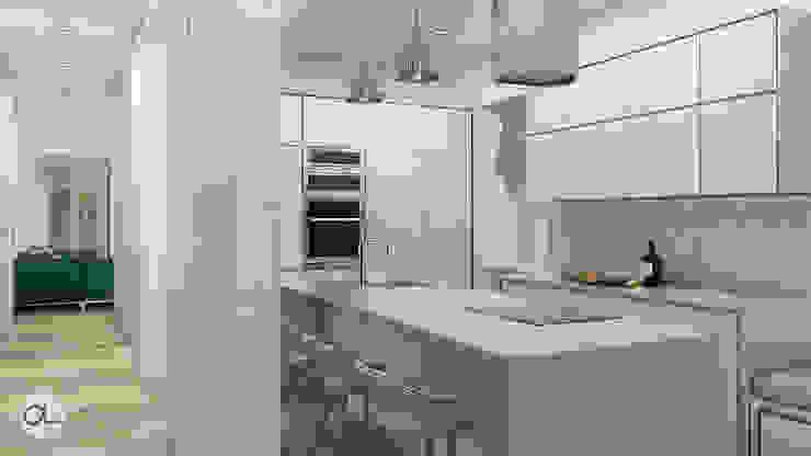 aponto Kitchen units Stone White