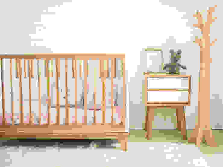 cuna Prágmata Habitaciones de bebés Madera Rosa
