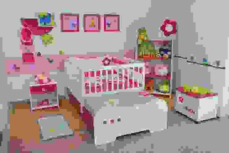 JUEGO DE ALCOBA INFANTIL PARA SEÑORITA.. Habitaciones modernas de MUEBLERIA Y CARPINTERIA MADEYRA Moderno Madera Acabado en madera