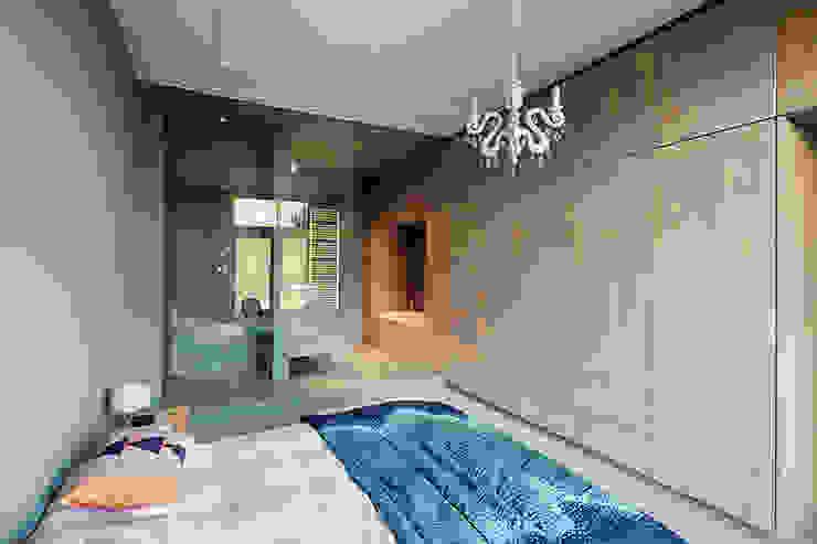 StrandNL architectuur en interieur Dormitorios de estilo moderno