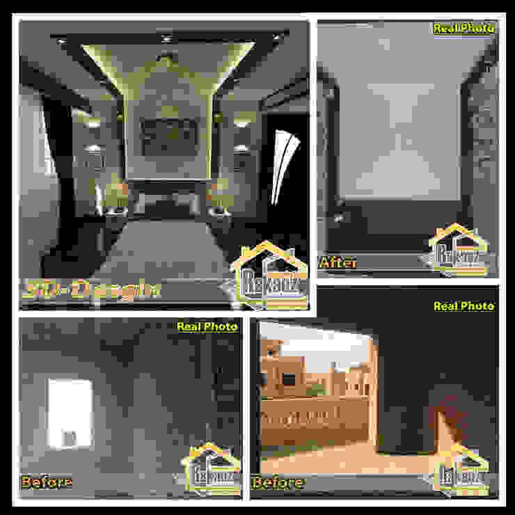 غرفة نوم رئيسية 2: حديث  تنفيذ مجموعة ركائز الهندسية, حداثي