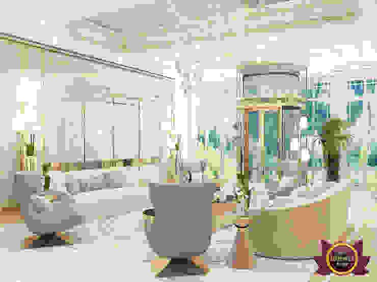 Living Room Interior By Famous Female Designer by Luxury Antonovich Design